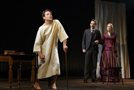Bradley Cooper stars in The Elephant Man. Photograph: Joan Marcus/AP